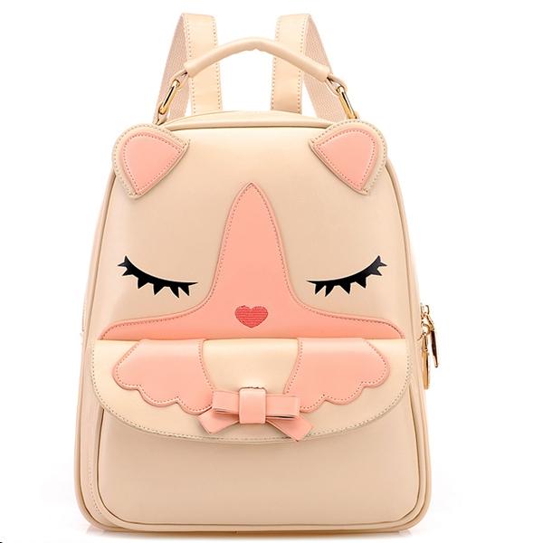 *free ship* kawaii korean cat kitty backpack