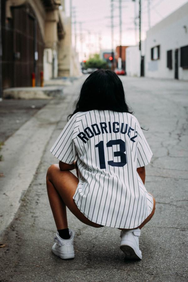 baseball jersey dress