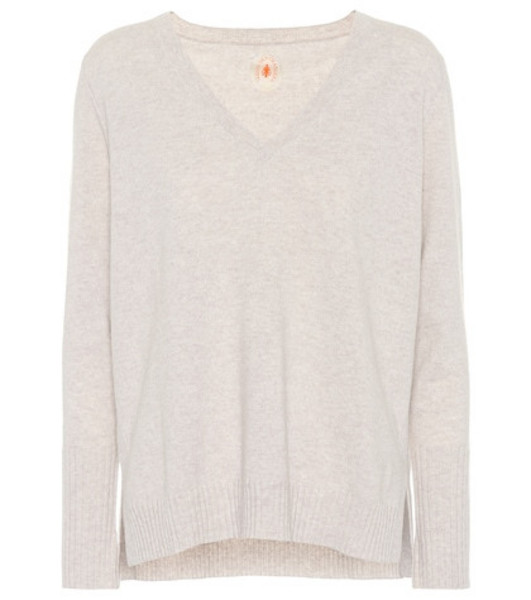 Jardin des Orangers Cashmere sweater in grey