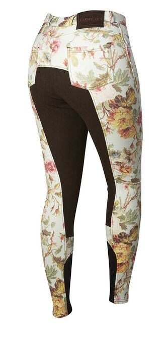 pants english western riding breeches floral
