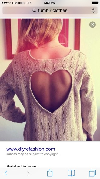 sweater heart tan winter sweater winter outfits