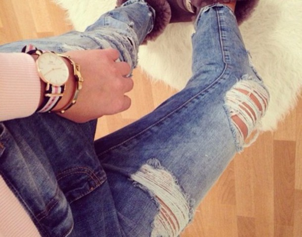 jeans blue ugg boots fashion