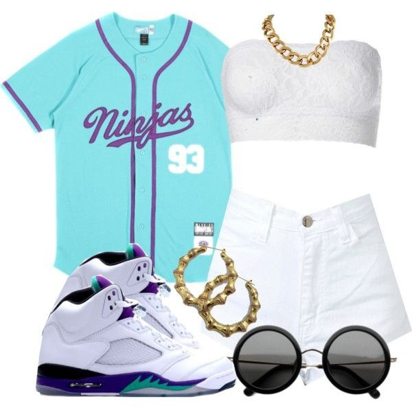 jacket shirt baseball shirt white top white shorts gold chain