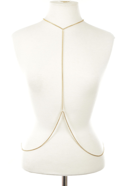 Simple and clean body chain