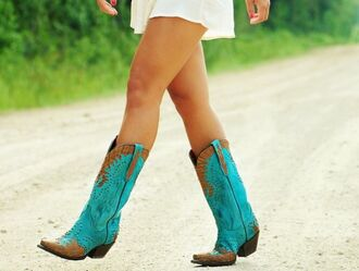 shoes boots blue blue boots cowgirl boots cowgirl cowboy boots blue cowgirlboots blue cowboy boots