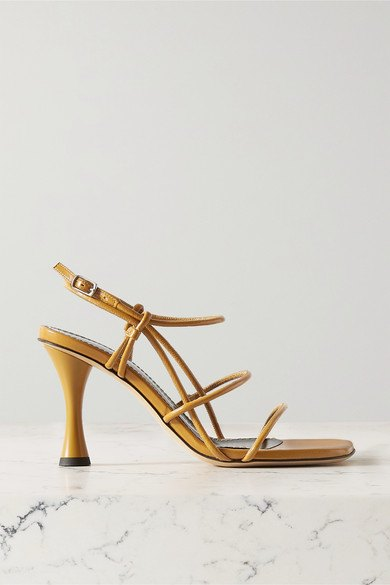 Proenza Schouler - Leather Sandals - Saffron - Leather Sandals