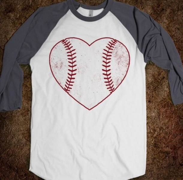 shirt grey t-shirt baseball tee