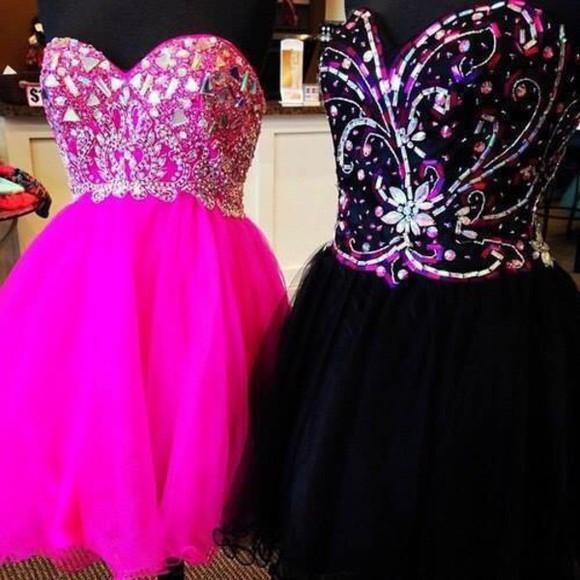 prom dress dress prom pink