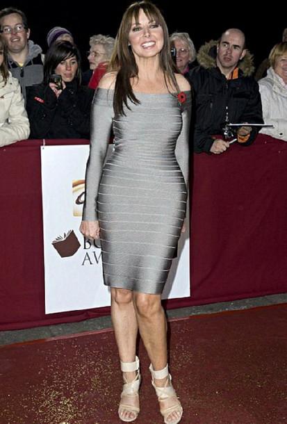 66b53966992c dress dream it wear it dress clothes clothes grey grey dress off the shoulder  off the