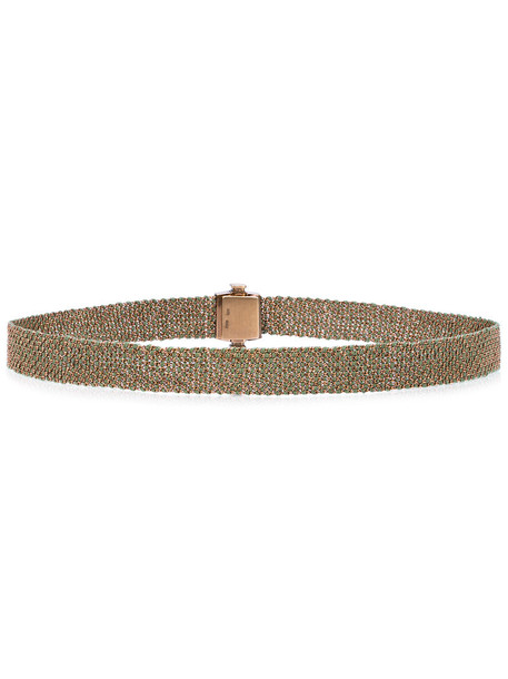 Carolina Bucci women gold silk grey metallic jewels