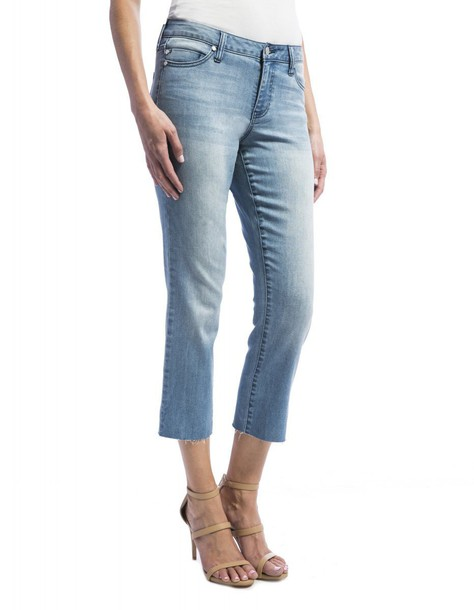 Liverpool jeans straight jeans cropped
