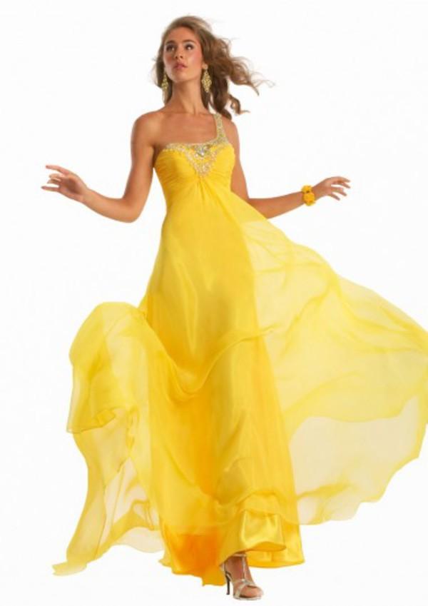 chiffon evening dresses