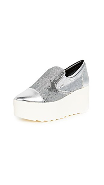 KENDALL + KYLIE sneakers platform sneakers silver shoes