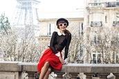 miss pandora,blogger,skirt,underwear,sunglasses