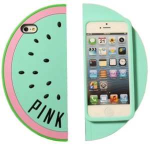 Amazon.com: mingfung sky blue watermelon for iphone5 5s 5g: cell phones & accessories