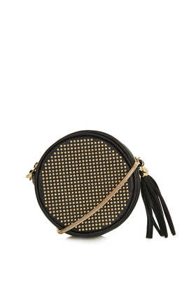 Round Pin Stud Crossbody Bag - Bags & Purses  - Bags & Accessories  - Topshop