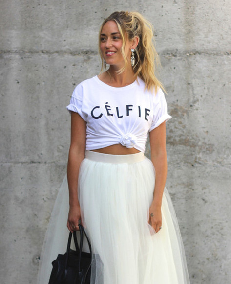 bottoms top skirt tutu puffy puffy skirt big skirt midi skirt white skirt tumblr girl streetwear street styled