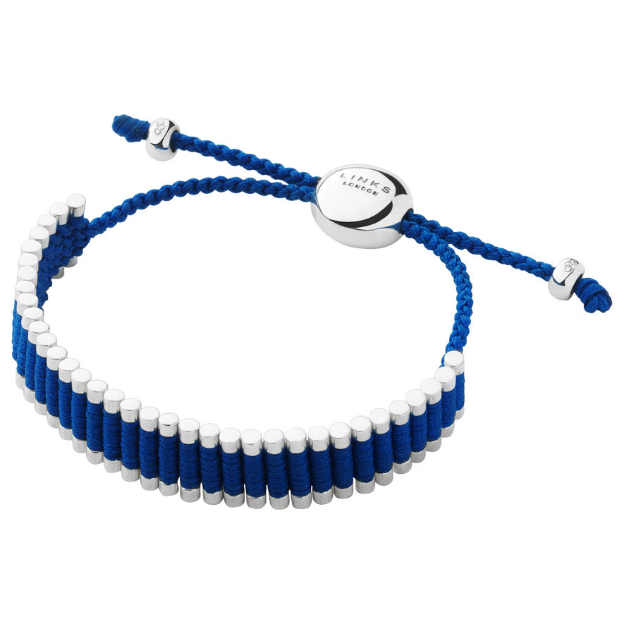 Blue Friendship Bracelet  from Links of London | Bracelets for women