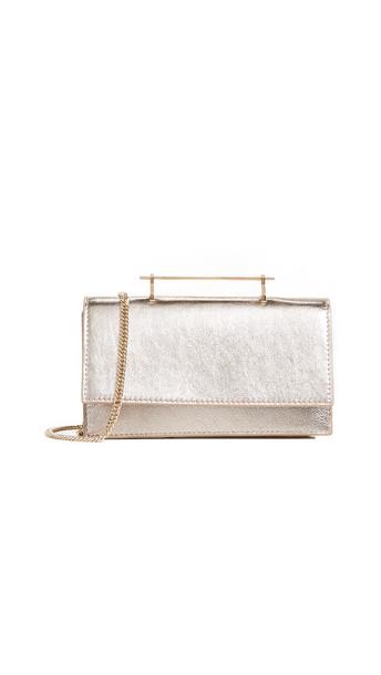 bag shoulder bag metallic gold