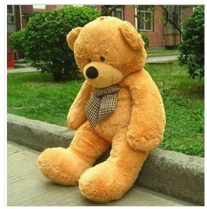 "Amazon.com : classic quality light brown quality 47"" giant huge cuddly teddy bear toy doll soft plush stuffed animal xmas gift : jumbo teddy bears stuffed animals : toys & games"