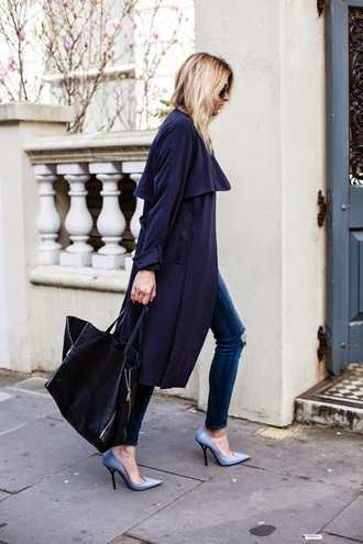 camille over the rainbow coat jeans shirt bag shoes