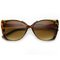 The lanez metal frame tortoise oversized cat eye sunglasses at flyjane