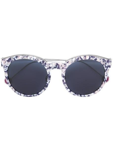 Dior Eyewear - 'Dior Blossom' sunglasses - women - Acetate/Metal (Other) - 52, Pink/Purple, Acetate/Metal (Other)
