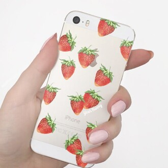 phone cover yeah bunny iphone strawberry case strawberry