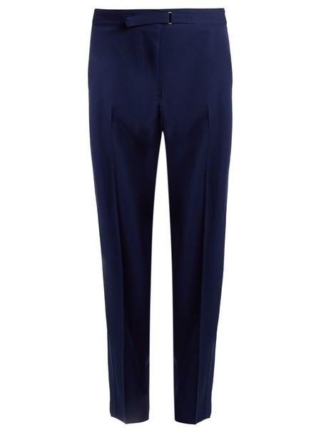 Stella McCartney wool blue pants