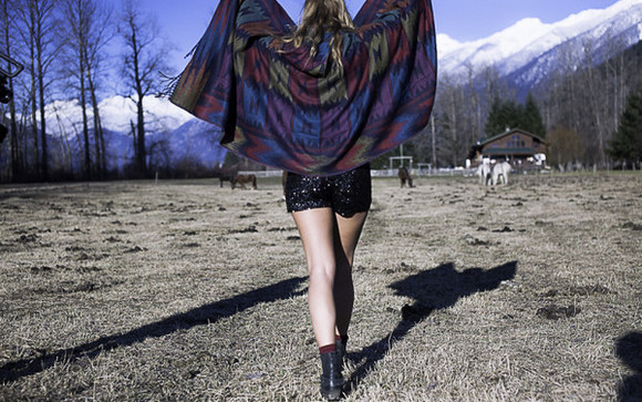 jacket wildandheart poncho gypsy boho sequins canadian native american