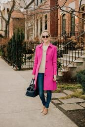 kelly in the city - a preppy chicago life,style and fashion blog,blogger,coat,jewels