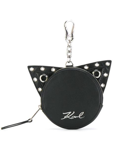 karl lagerfeld women purse black bag