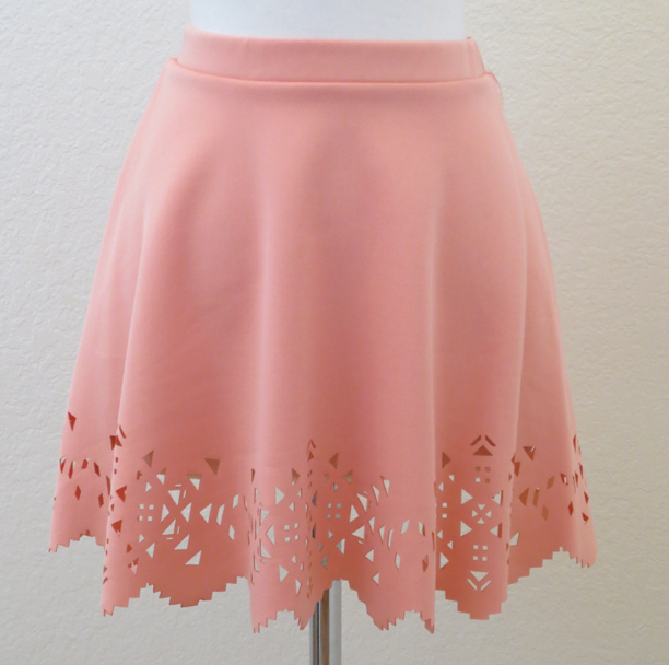 Laser Cut Circle Skirt from Miss Mag-iba Boutique on Storenvy