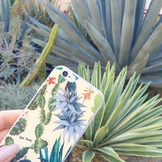 phone cover yeah bunny jewels cactus iphone succulent