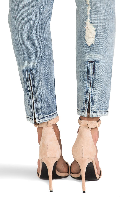 Sass & Bide How It Starts Distressed Skinny in Washed Indigo | REVOLVE