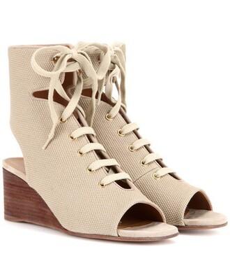 sandals wedge sandals lace shoes
