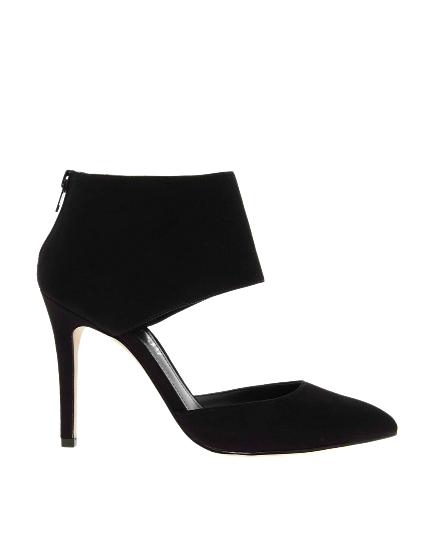 ALDO Carmelithe Cuffed Heeled Shoes at asos.com