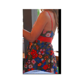 sundress,dress,summer,flowers,green dress,red dress,orange dress,purple dress,white dress,blue dress,pink dress