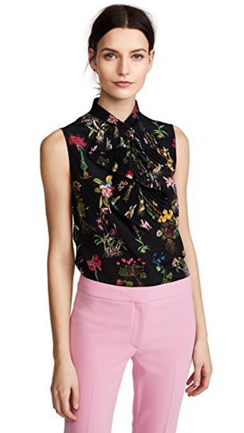 No. 21 blouse printed blouse top
