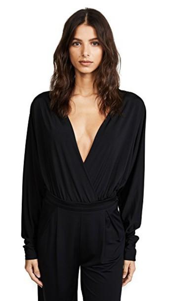 The Range bodysuit black underwear