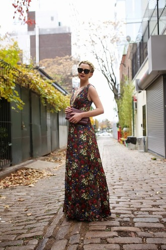 blogger clutch hairstyles jewels atlantic pacific maxi dress