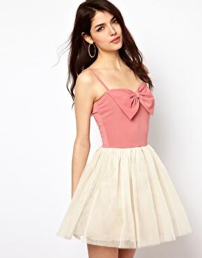 Paprika | Paprika Bow Front Dress at ASOS