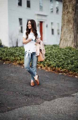 dress corilynn blogger shirt jeans jacket shoes bag sunglasses jewels make-up