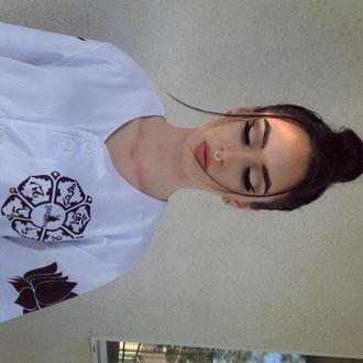 shirt white jersey white baseball jersey baseball jersey white tee