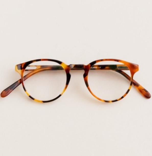 Large Frame Tortoise Shell Glasses : Sunglasses: glasses, tortoise shell - Wheretoget