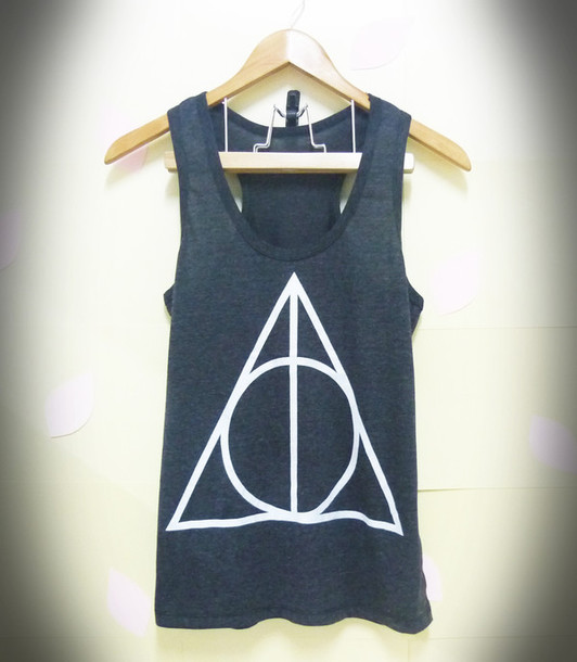 tank top triangle tank top graphic shirts