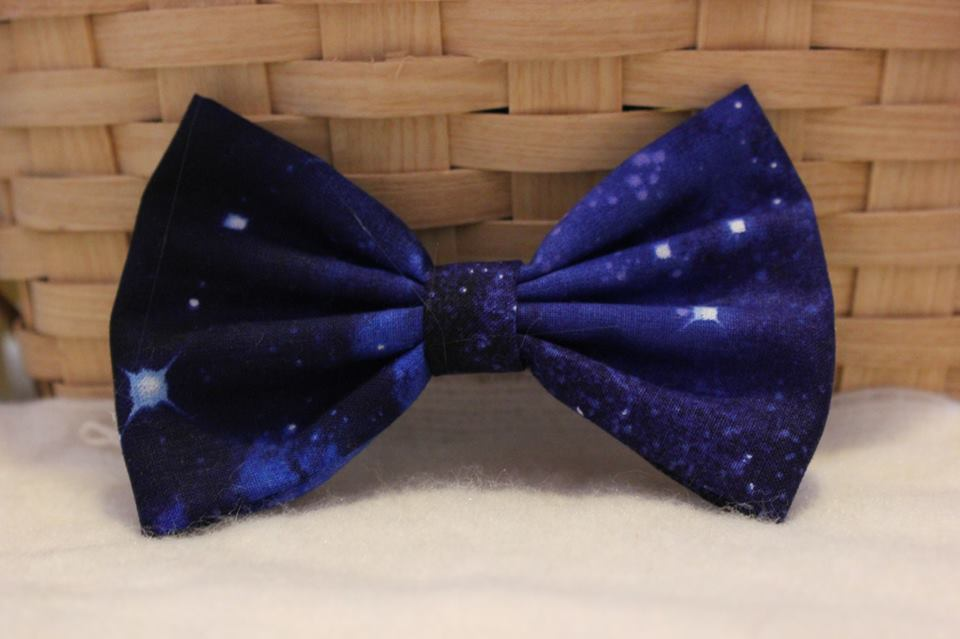 Distant galaxy bow from tame bowtique on storenvy