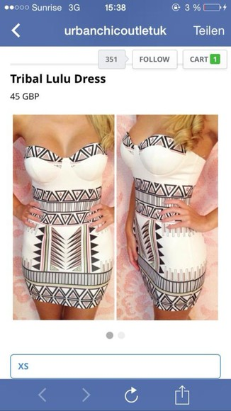 dress bandage dress bandage dresses tribal pattern aztec ebonylace.storenvy ebony lace - lookbooksotre