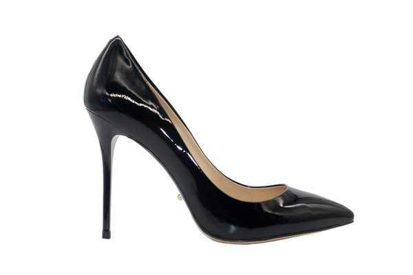 4 inch heels Black Pointed Toe Classic High Heel pumps