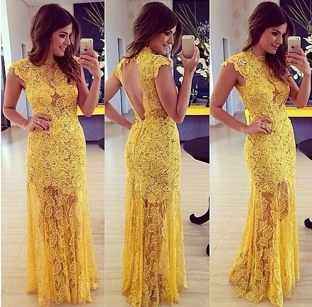 Serilla Lace Long Maxi Dress